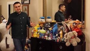 Oyuncaklarının fiyatı 100 - 150 bin TL Ünlü şef Burak Özdemir evinin kapılarını açtı