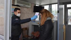 Marmariste polis merkezlerinde koronavirüs önlemi