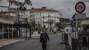 Adalarda koronavirüs sessizliği... Sokaklar boş, dükkanlar kapalı
