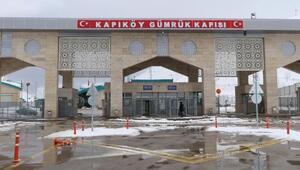 Kapıköy Gümrük Kapısındaki yolcu giriş ve çıkışları geçici süreyle durduruldu