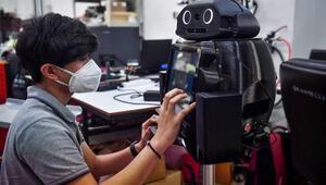 Tayland, koronavirüse karşı ninja robot kullanıyor