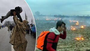 Acımasızca saldırdılar Yunanistan sınırında son durum