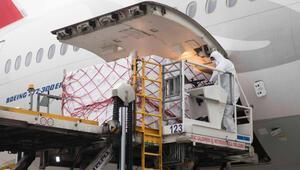 Turkish Cargo artırılmış kapasitesi ile sağlık ürünlerini Türkiyeye ulaştırıyor