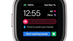 El yıkama sıklığınızı ve sürenizi saatinizden takip edin