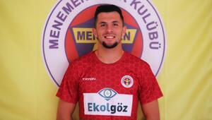 Menemensporun Arnavut kalecisi Selmani, Süper Lig yolunda