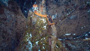 Kanyonları ile tanınan 2 bin 500 nüfuslu ilçeyi 150 bin kişi ziyaret etti