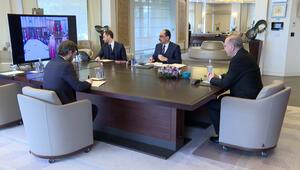 Cumhurbaşkanı Erdoğandan kritik toplantı