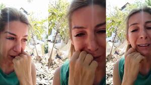 Gözyaşları içinde anlatıp Hindistan'daki ablası için yardım istedi