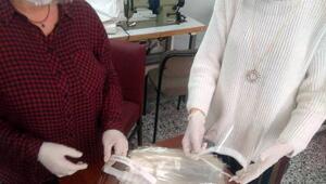 Kırklarelide asetatlı maske yapımına başlandı