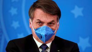"""Brezilya Devlet Başkanı Bolsonaro, Kovid-19'u basit bir grip"""" olarak nitelendirdi"""