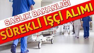 Sağlık Bakanlığı sürekli işçi alımı ilanı başvurusu İŞKUR ile nasıl yapılır 14 bin işçi alımı İŞKUR başvuru şartları ve kadro dağılımı