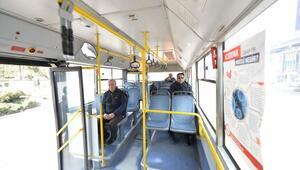 EGO'dan otobüslerde 'Yüzde 50' uyarısı