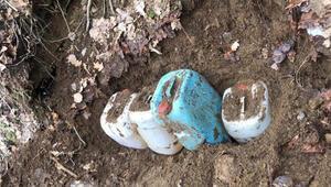Bitliste PKKlıların toprağa gömdüğü yaşam malzemeleri bulundu