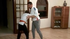 Judo öğrencileri değişik yöntemler ile şampiyonaya hazırlanıyor