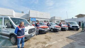 Büyükşehir Belediyesi hayvan nakil araç filosuna yenilerini kattı