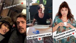 Necati Kocabaydan Nurgül Yeşilçaya romantik kutlama: Bundan 2 yıl önce hayatımın aşkıyla tanıştım