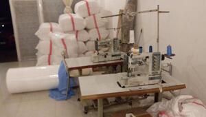Niğdede izinsiz tıbbi malzeme üretimine 4 gözaltı