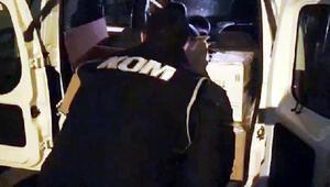 Gaziantepte sahte alkol operasyonu: 2 gözaltı