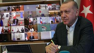 G20de tarihi zirve Cumhurbaşkanı Erdoğan video konferansla katılacak