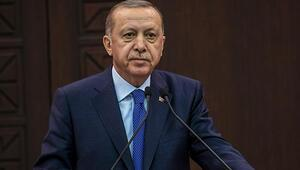 Cumhurbaşkanı Recep Tayyip Erdoğandan, şehit ailelerine taziye mesajı