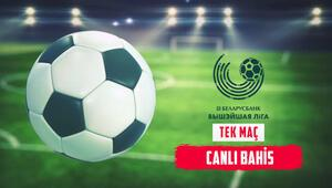 Belarus Ligi hem TEK MAÇlarla hem de CANLI BAHİSle Misli.comda