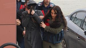 Düzcede hareketli dakikalar Emre Aşık'ın eşi cezaevi firarisiyle yakalandı