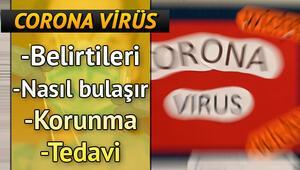 Corona Virüs belirtisi nedir ve nasıl anlaşılır, virüs nasıl bulaşıyor Covid-19 nedir