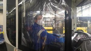 İETT otobüslerinde Corona Virüs önlemi