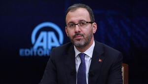 Bakan Kasapoğlu duyurdu Spor tesislerinde kira müjdesi