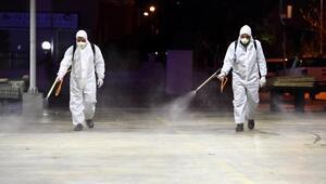 Pazarlar dezenfekte ediliyor, esnaf denetleniyor