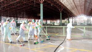 Çankayada virüse karşı etkin mücadele