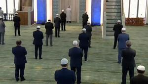 Son dakika haberler... Beştepe Millet Camisinde cuma namazı kılındı