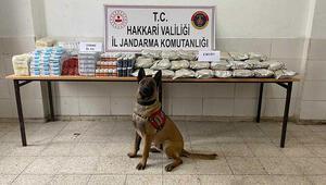 Yüksekovada 158 kilo uyuşturucu ele geçirildi