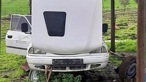 Çalıntı araçların parçalarını internetten satan şüpheli, yakalandı
