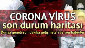Türkiyede vaka sayısı kaç oldu, Covid-19dan kaç kişi hayatını kaybetti Sağlık Bakanlığı Türkiye Corona Virüsü vaka takip sayfası