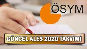 ALES ertelendi mi 2020 ALES ne zaman yapılacak İşte ÖSYM güncel takvimi