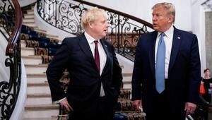 Trump, Kovid-19a yakalanan İngiltere Başbakanı Johnsona acil şifalar diledi