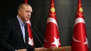 Cumhurbaşkanı Erdoğan, alınacak yeni tedbirlerle ilgili açıklama yaptı