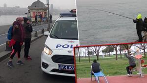 Son dakika haberler: Bu sabah İstanbulda corona virüs etkisi... Dikkat çeken kareler