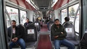Toplu ulaşıma sosyal mesafe ayarı