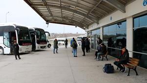Çanakkalede otobüs seferleri Valilik iznine bağlandı