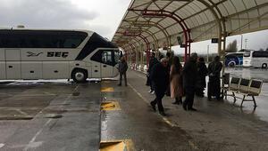 Bursada şehirlerarası otobüs terminalleri kapandı