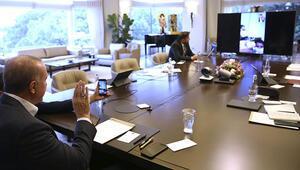 Cumhurbaşkanı Erdoğandan karantinada doğum yapan Sevda Güle tebrik telefonu