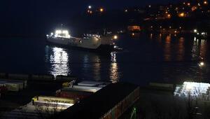 Ukraynadan gemiyle gelen 34 TIR şoförü karantina altına alındı