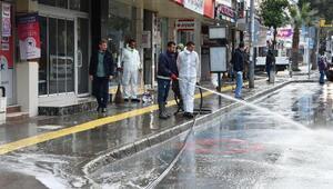 Narlıderede 6 mahalle dezenfekte edildi