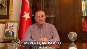 Bakan Çavuşoğlundan yurt dışındaki Türklere evde kal çağrısı