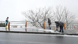 Mardinde cadde ve sokaklar dezenfekte edildi