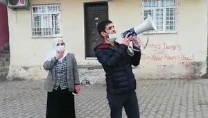 HDPli Tosun ile megafonla anons yaptırdığı kişi hakkında soruşturma