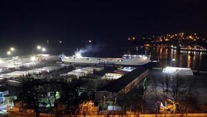 Ukraynadan gemiyle gelen 18 TIR şoförü daha karantina altına alındı
