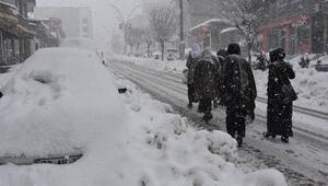 Doğudaki 4 ilde karla karışık yağmur ve kar etkili olacak